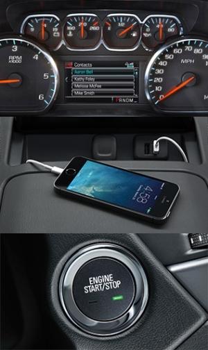 Chevrolet Technology 2015 Tahoe Suburban