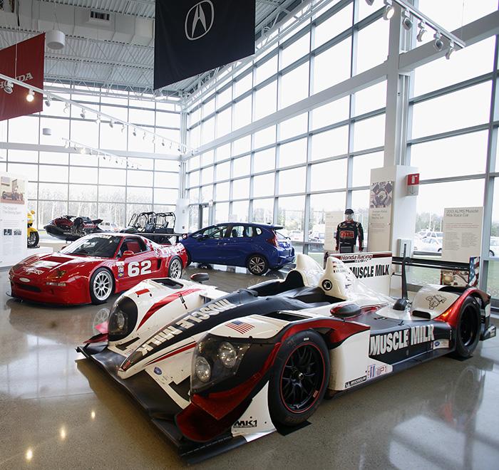 New honda museum opens in ohio drive my family for Honda heritage center