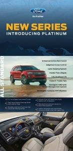 2016 Ford Explorer: Introducing Platinum