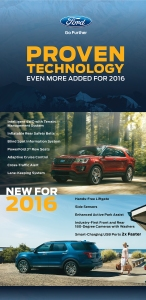 2016 Ford Explorer: Proven Technology