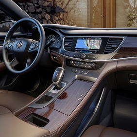 The All – New 2017 Buick LaCrosse center console