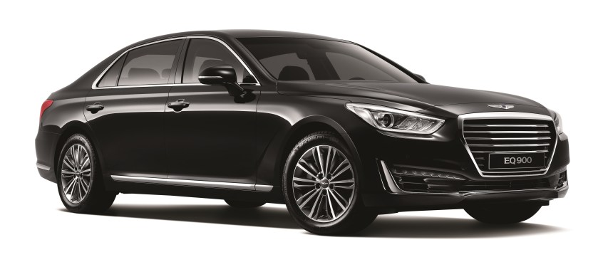 GENESIS BRAND LAUNCHES ITS FIRST MODEL, G90