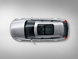 Volvo V90 Studio bird's eye view