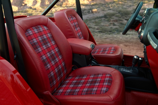 Jeep® Shortcut Concept Interior