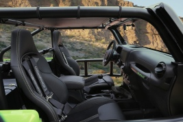 Jeep® Trailcat Concept Interior